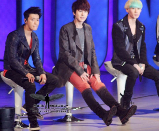 130119 Super Junior-M Nanjing Fanmeeting with Donghae by leedonghae1016 (1)