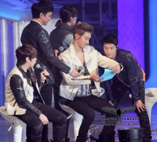 130119 Super Junior-M Nanjing Fanmeeting with Donghae by leedonghae1016 (2)