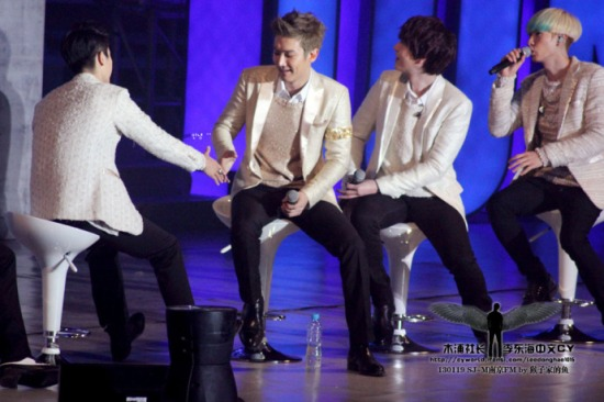 130119 Super Junior-M Nanjing Fanmeeting with Donghae by leedonghae1016 (3)
