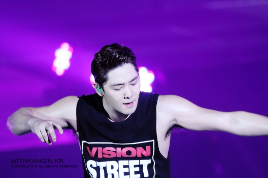 140222 Super Show 5 Tour in Beijing with Kangin by withkangin (18)