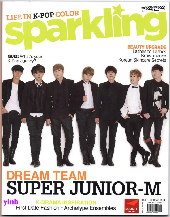 140406 Super Junior - M for Sparkling Magazine Spring 2014 Issue by Malyn @yinb   (1)