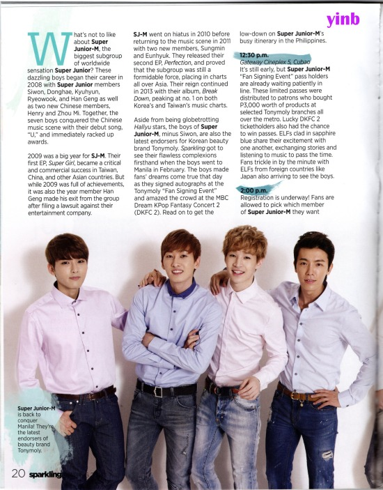 140406 Super Junior - M for Sparkling Magazine Spring 2014 Issue by Malyn @yinb   (2)