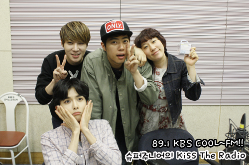 140412 Sukira (KTR) Official Update with Ryeowook
