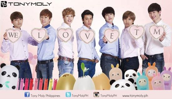 140417 Tony Moly Philippines with Super Junior- M