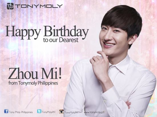140418 Tony Moly Philippines with Zhoumi