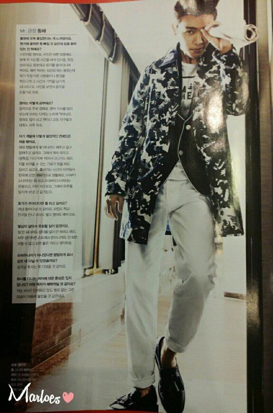 140419 Cosmopolitan Magazine with Super Junior-M cr- Marloes (4)