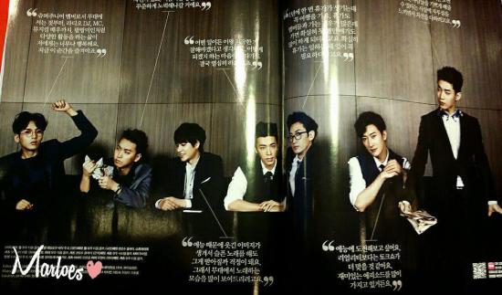 140419 Cosmopolitan Magazine with Super Junior-M cr- Marloes (5)