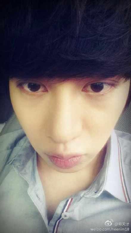 140710 heechul weibo