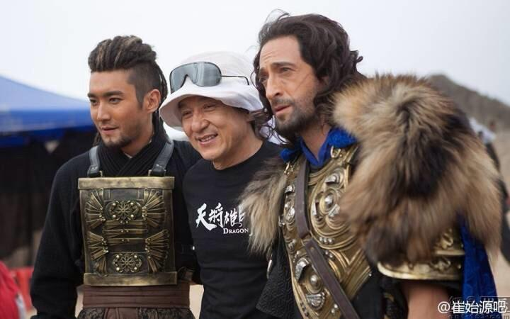 140722 'Dragon Blade' Movie Filming with Siwon [2P]  