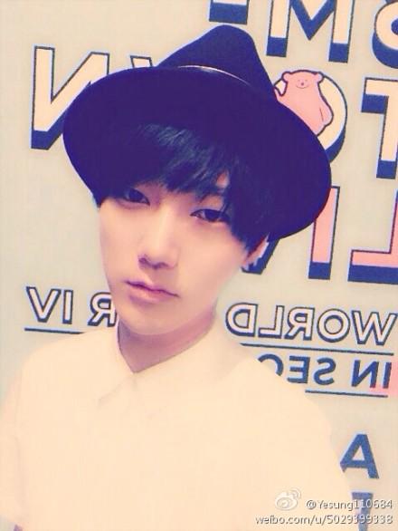 140819 yesung weibo