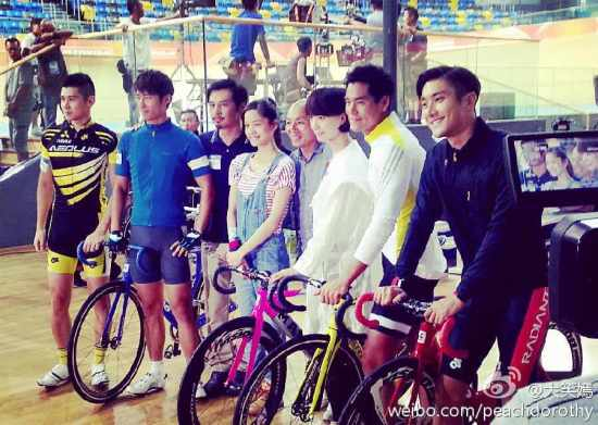 140820 'To The Fore' Filming with Siwon (1)