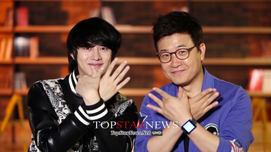 140822 Official, MBC 'Make A Wish' with Heechul