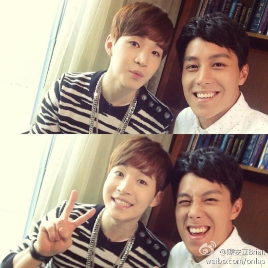 140827 brian weibo with henry