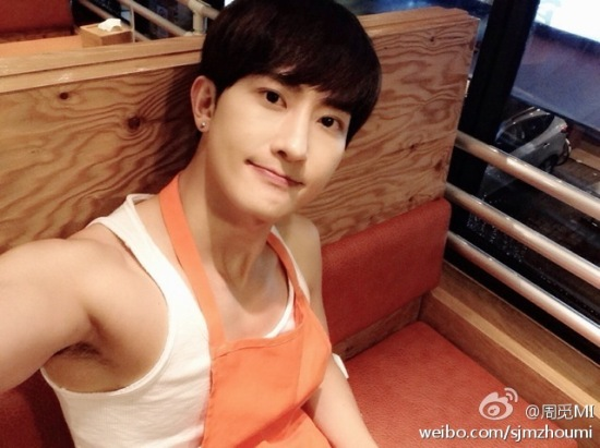 140827 zhoumi weibo