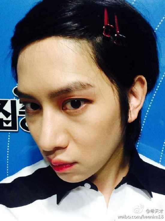 140830 heechul weibo