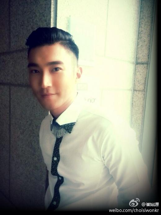 140831 siwon weibo