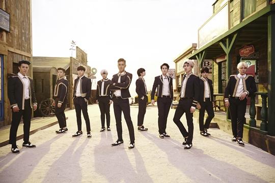 140901 Super junior group picture
