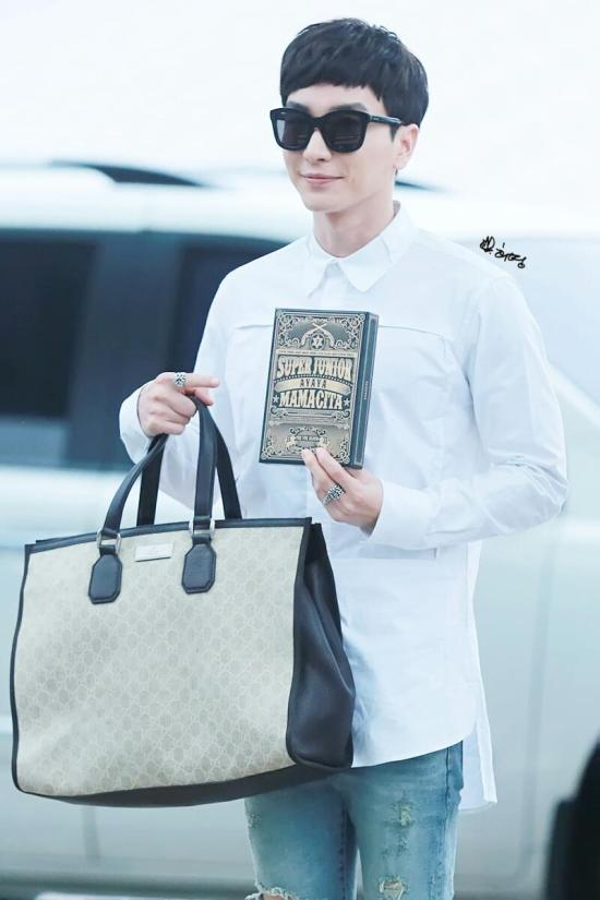 140903 leeteuk at incheon airport001