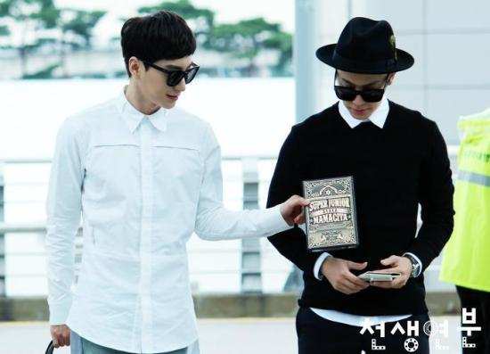 140903 leeteuk donghae at incheon airport004