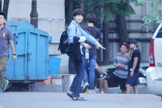 140907 Kyu-after-inkigayo
