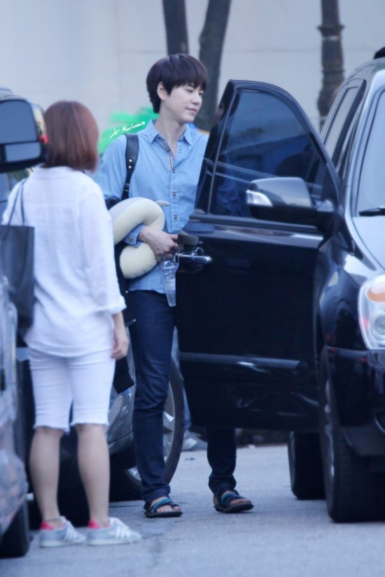 140907 Kyu-after-inkigayo4
