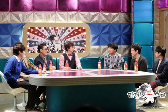 140922 MBC Radio Star Official Update with Kyuhyun 1