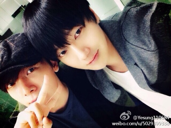 141017 yesung weibo
