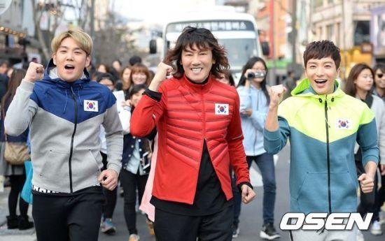 141106 leeteuk kangin kim janghoon's mv filming000