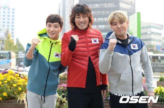 141106 leeteuk kangin kim janghoon's mv filming001