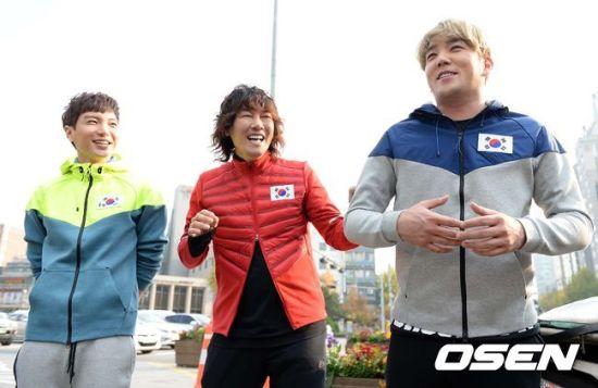 141106 leeteuk kangin kim janghoon's mv filming002