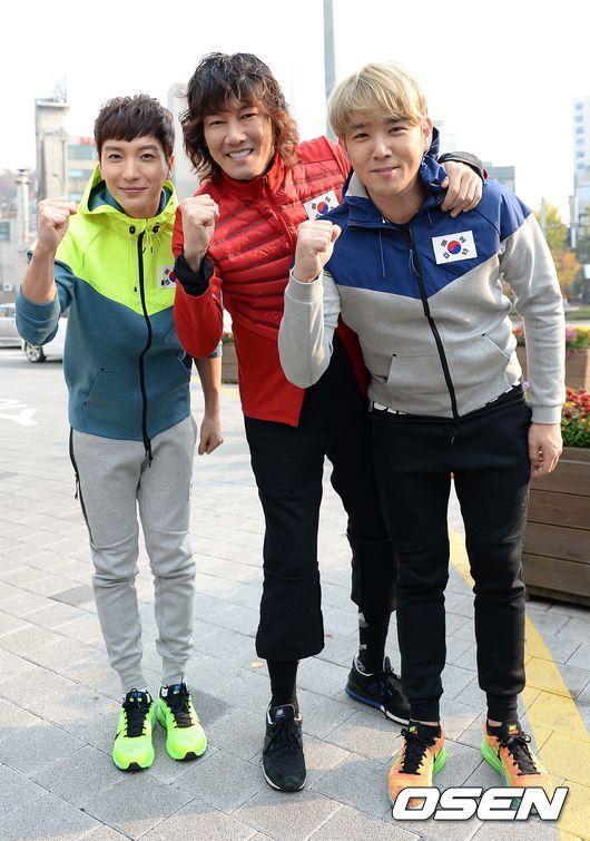 141106 leeteuk kangin kim janghoon's mv filming004