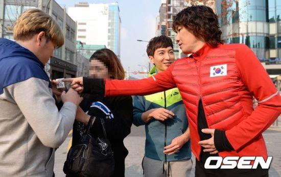 141106 leeteuk kangin kim janghoon's mv filming008
