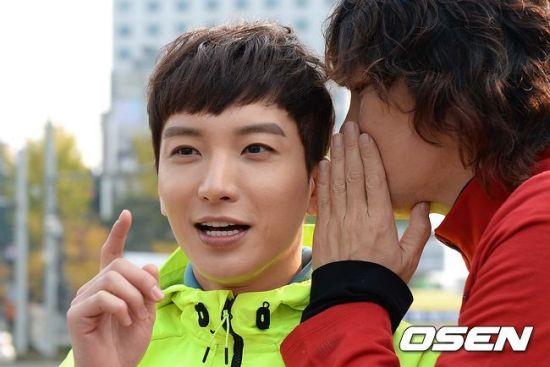 141106 leeteuk kangin kim janghoon's mv filming010