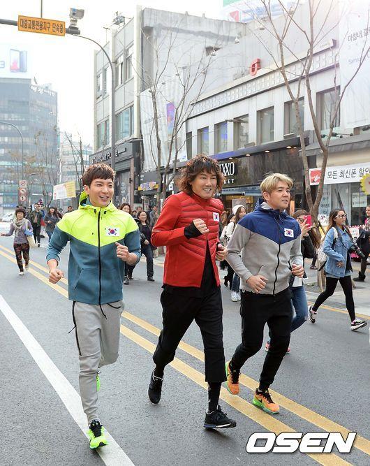 141106 leeteuk kangin kim janghoon's mv filming011