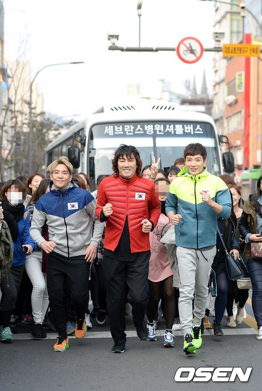 141106 leeteuk kangin kim janghoon's mv filming015