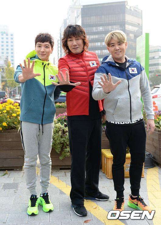 141106 leeteuk kangin kim janghoon's mv filming017