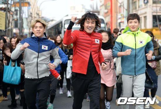 141106 leeteuk kangin kim janghoon's mv filming018