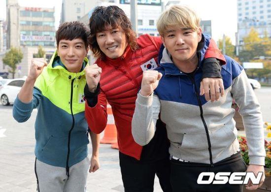 141106 leeteuk kangin kim janghoon's mv filming020