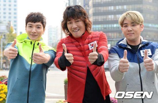 141106 leeteuk kangin kim janghoon's mv filming021