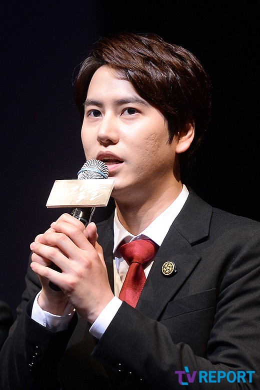 141106 Official, 'The Days' Musical Press Call with Kyuhyun005