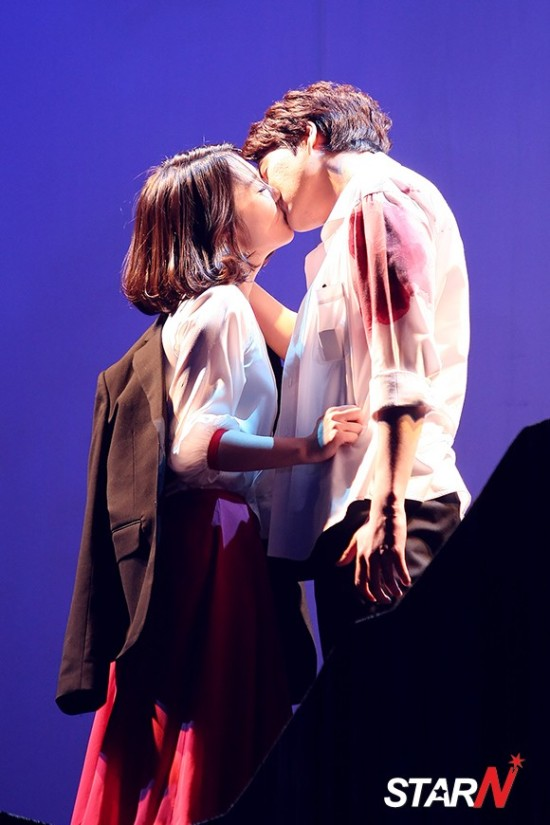 141106 Official, 'The Days' Musical Press Call with Kyuhyun012