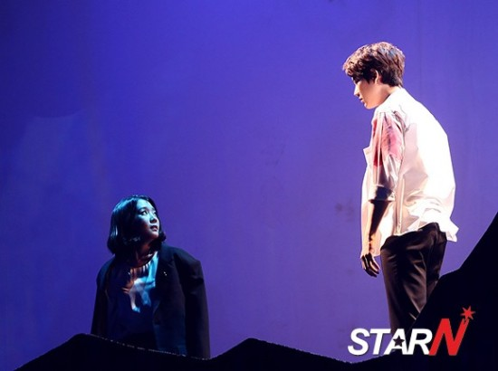 141106 Official, 'The Days' Musical Press Call with Kyuhyun013