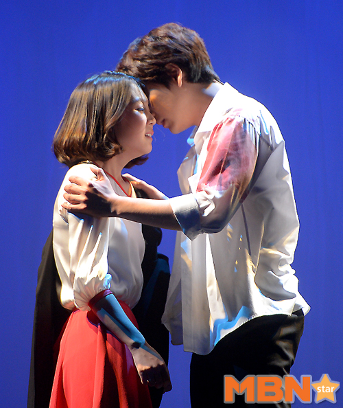 141106 Official, 'The Days' Musical Press Call with Kyuhyun019