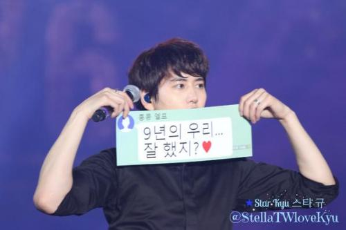 141108 SuperSHowHK-Kyu19