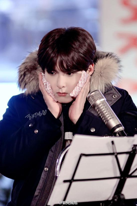 141213 Ryeowook at Hongdae1