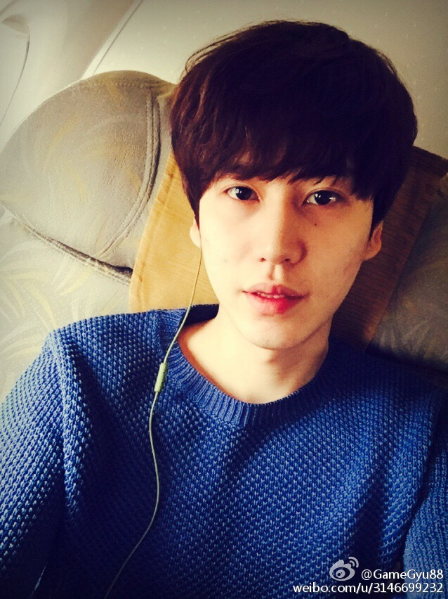 150405 kyuhyun weibo update our promise the 7th
