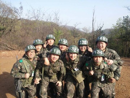 150417 Sungmin in the Army