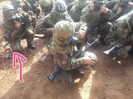 150417 Sungmin in the Army2