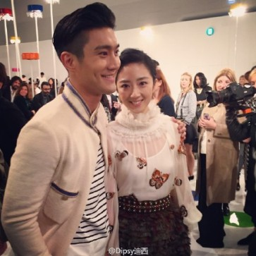150504 Siwon at Chanel event