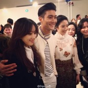 150504 Siwon at Chanel event3